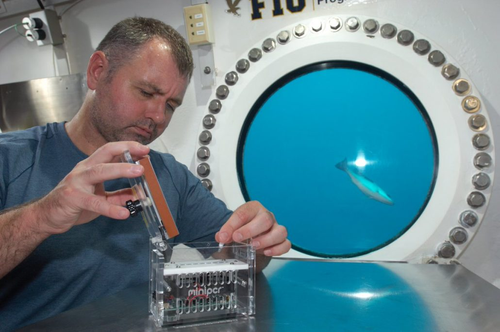 Aqua Griofa using miniPCR aboard NEEMO21